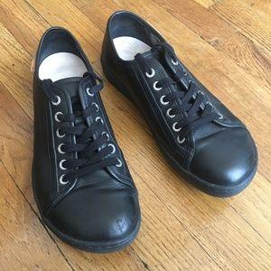 Birkenstock Arran Black Leather Shoes (W, Size 40)
